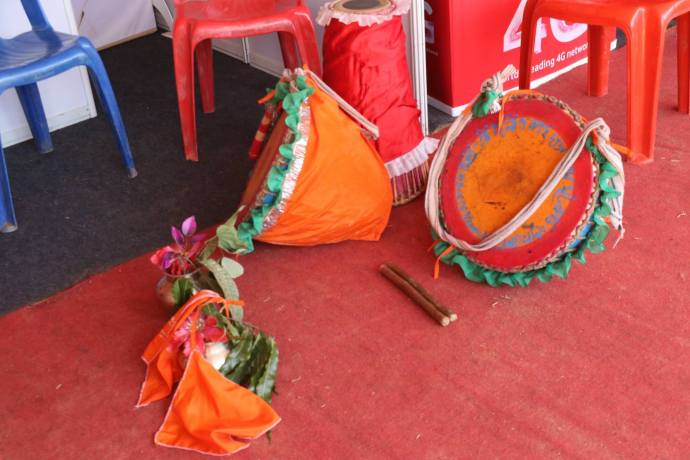 dhak - drums from west bengal