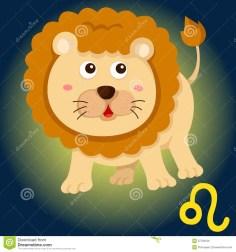 zodiac-leo-sign-illustration-cartoon-37763106