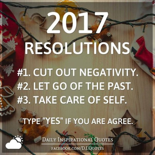 How to Make & Keep Resolutions #Positive2017