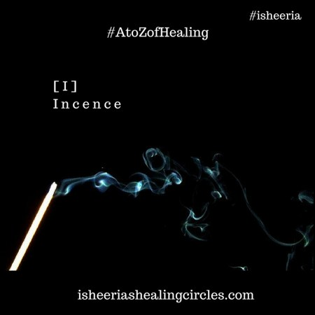 incense - isheeria - A to Z of Healing