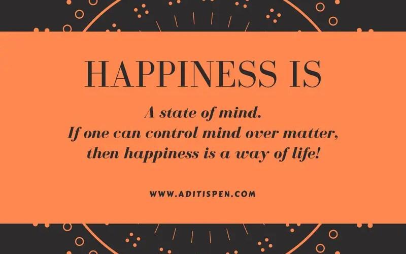 Happiness aditi isheeria