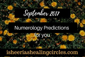 Numerology Predictions - September 2017 - isheeria