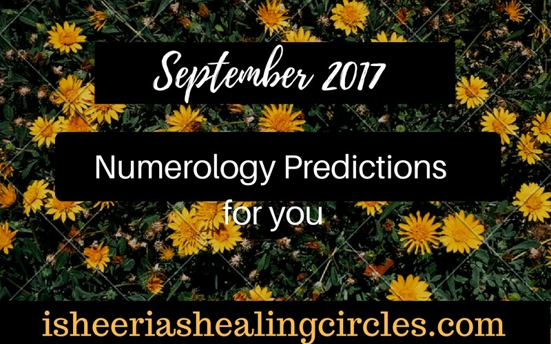 Numerology Predictions - September 2017 - isheeria