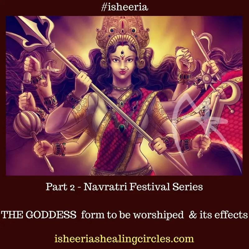 #Navratri - #Durga Navami #isheeria (2)