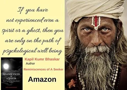 reminiscences of a seeker kapil kumr bhaskar