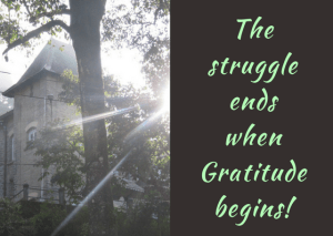 healing and gratitude