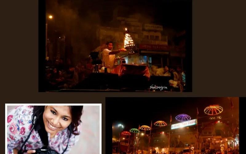 Postcards from the Ganga Arti in Varanasi - shalzmojo on Isheeria