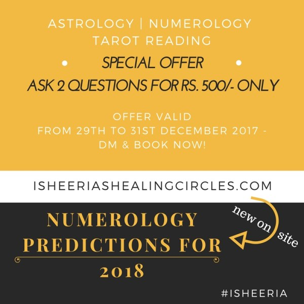 Numerology Predictions : The Year 2018 for you