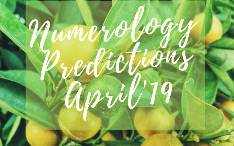 Numerology Predictions April Isheeria