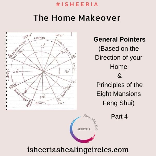 General Pointers for the Home Make over (#Fengshui) #isheeria