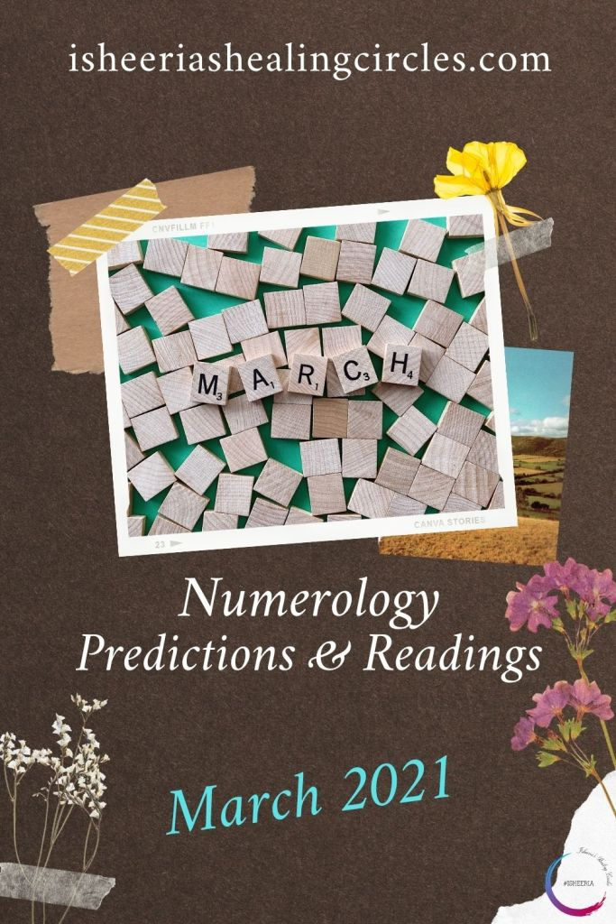 Numerology Predictions & Readings March 2021 isheeria