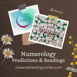 numerology march 2021 isheeria