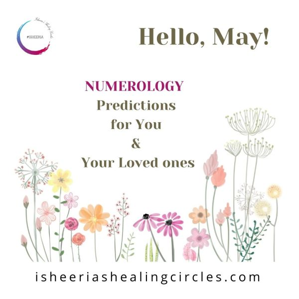 #Numerology for MAY 2021 #isheeria