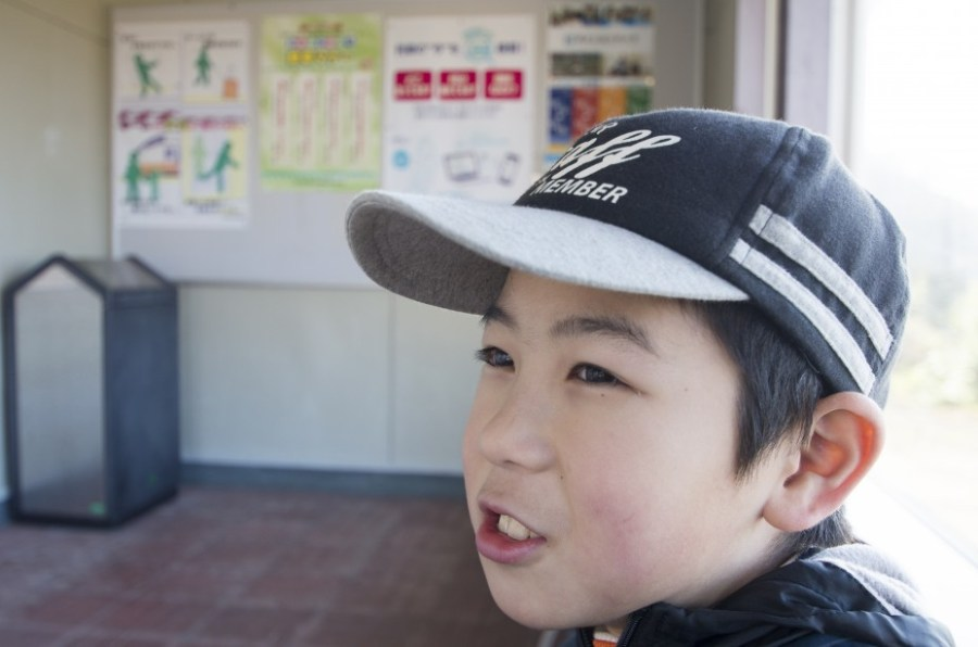 笠取峠~小波渡駅へ
