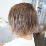 短い髪も綺麗なグラデーションに!ショートボブのバレイヤージュの入れ方