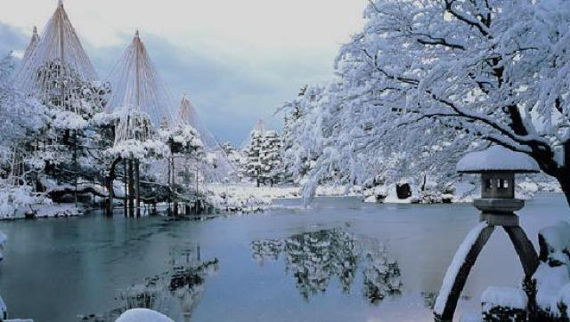 Winter Kenroku-en