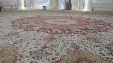 Hand knotted (and the softest) carpet