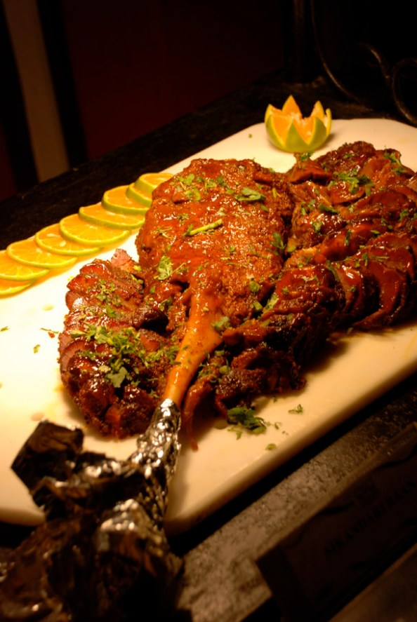 Sikarni Raan/ Marinated Lamb Shank @Hotel Yak and Yeti