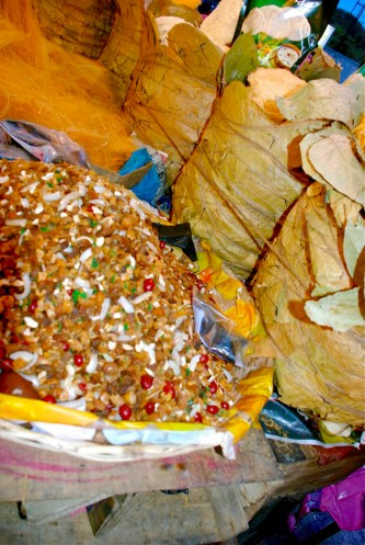 Dried fruits sold in Park Circus, Kolkata