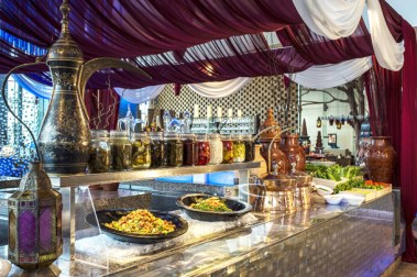 A sundown feast for Iftar at Anise