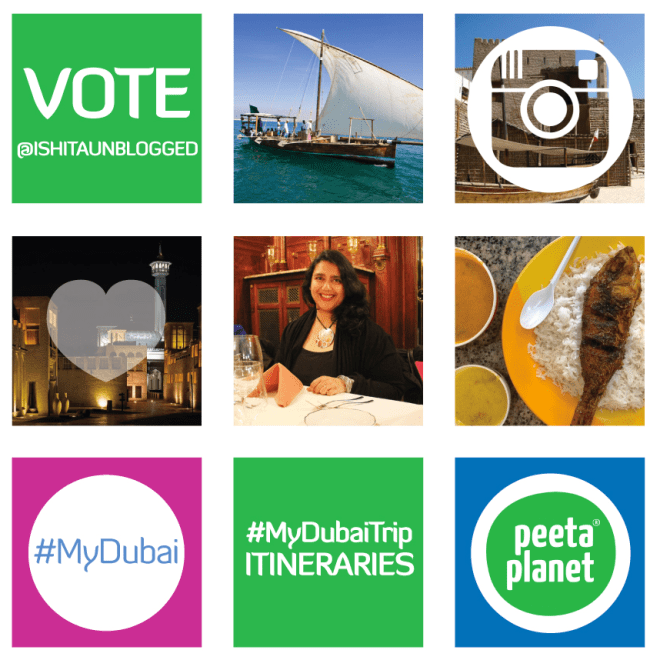 IshitaUnblogged's #MyDubaiTrip itinerary for Peeta Planet