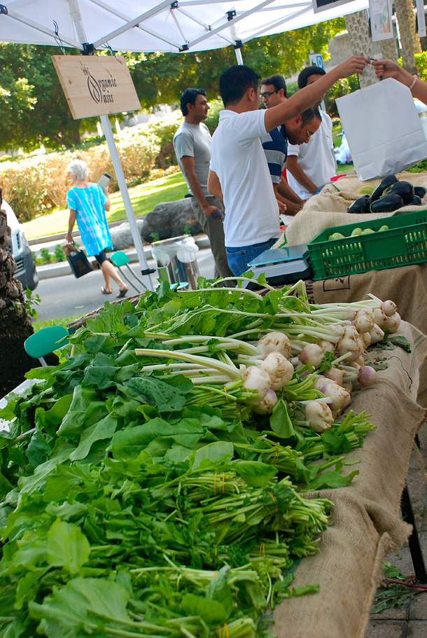 The Farmers' Market on the Terrace in Jumeirah Emirates Towers
