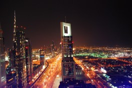 View of SZR from Level 43 Skylounge