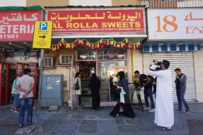 Rolla Sweets in Al Mareija area