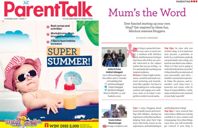 Khaleej Times Parent Talk
