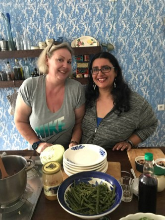Debbie Rogers & Ishita B Saha, founders of FoodeMag