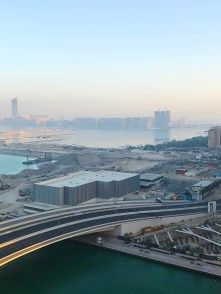 View from Grosvenor House Dubai