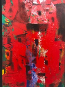 Paresh Maity's art at Art Dubai