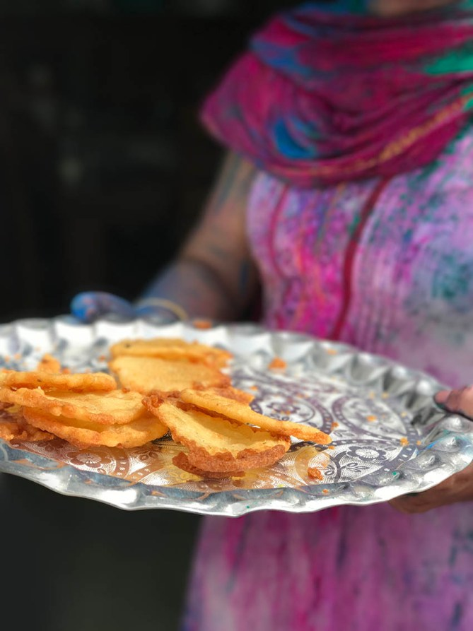 Malpua - a traditional Bengali sweet