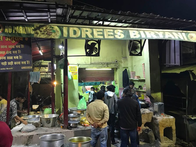 Idrees Biryani in Lucknow