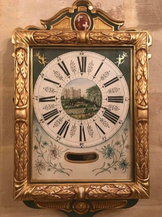 Traditional Maltese wall clock known as 'Arlogg tal-Lira'