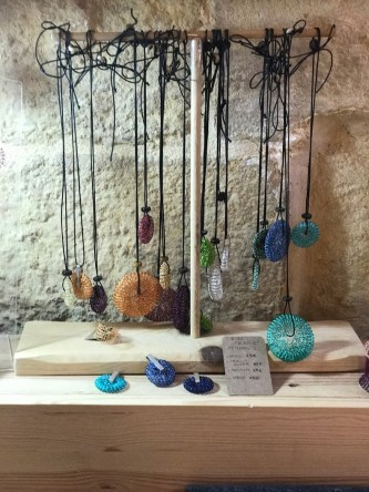 Wire Bubble pendants in Find the Door artisanal boutique in Birgu