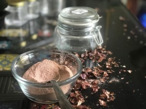 Cocoa powder for making Hazelnut spread
