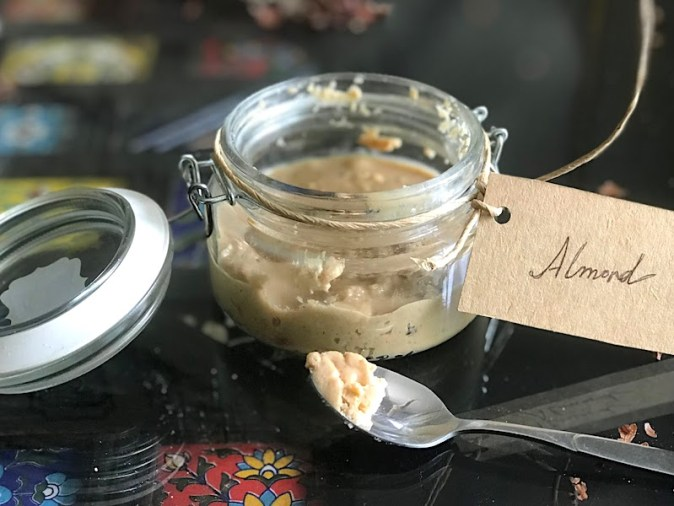 Homemade Almond spread