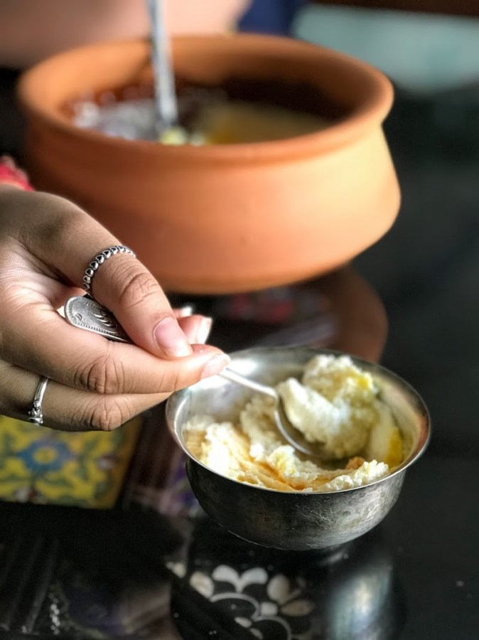 Homemade Mishti Doi