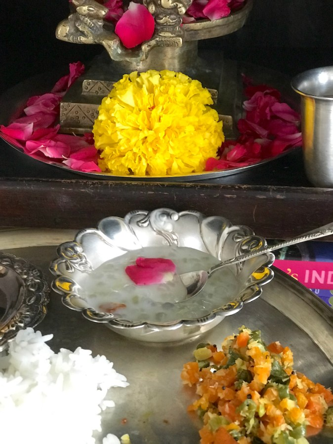 Javvarisi Payasam offered to Lord Shiva