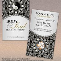 Arabesque New Age Holistic Business Card
