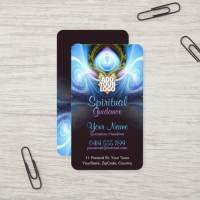 Spiritual Guidance Holistic Energy Business Card