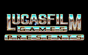 Das Lucasfilm Games Logo aus Indiana Jones and the Last Crusade (1989)