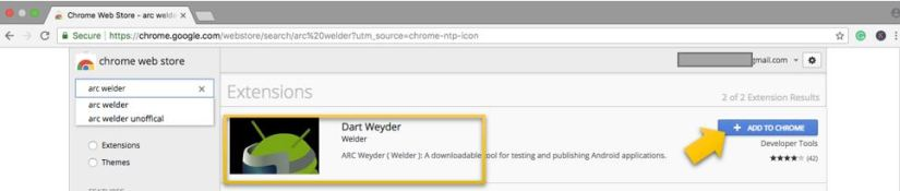 Add Arc Welder to Chrome
