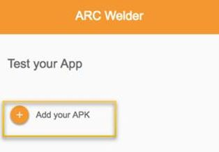 Add Showbox app to Arc Welder