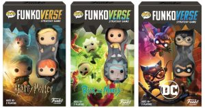 First Funko Board Games Include Batman, Harry Potter & Rick and Morty