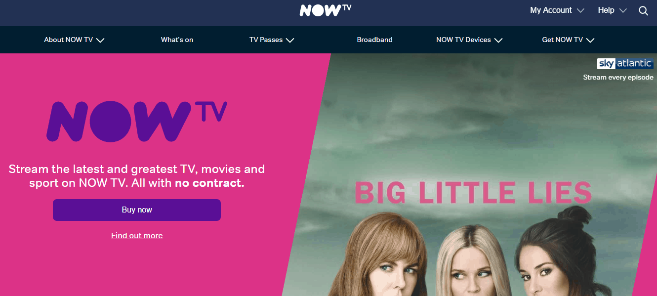 Now TV Free Trial | 7 Days Offer + 2019 Discount Code