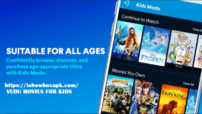 vudu tv app for all ages