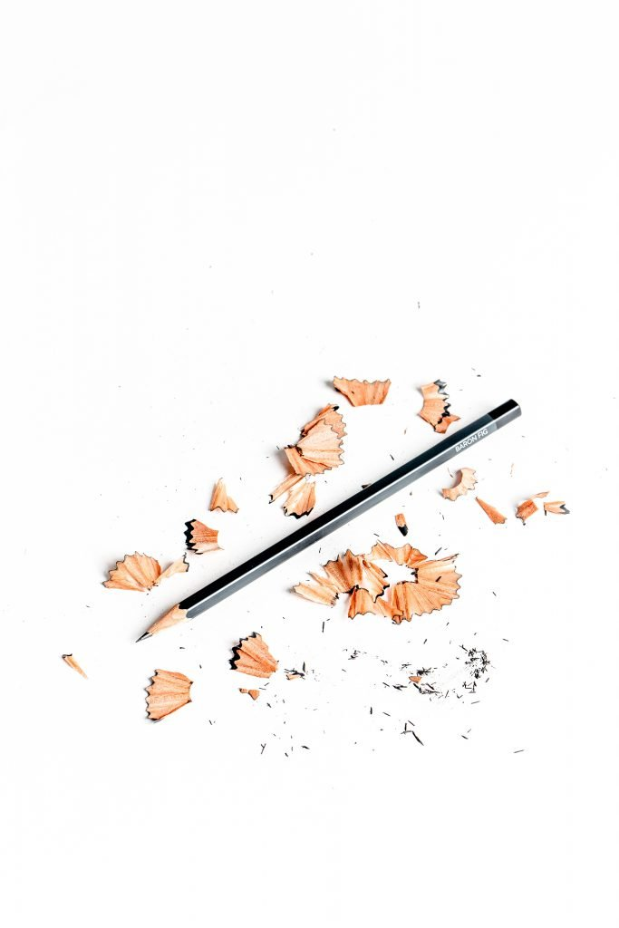 pencil with shavings