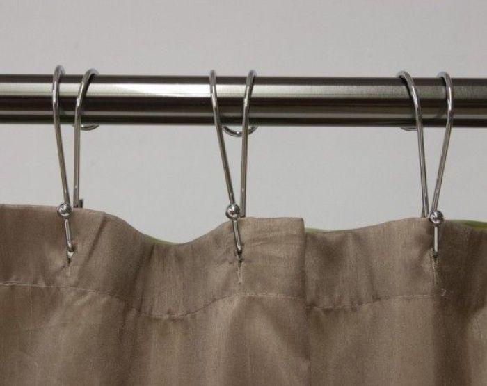 Металлические крючки для штор: простота и надежность в эксплуатации